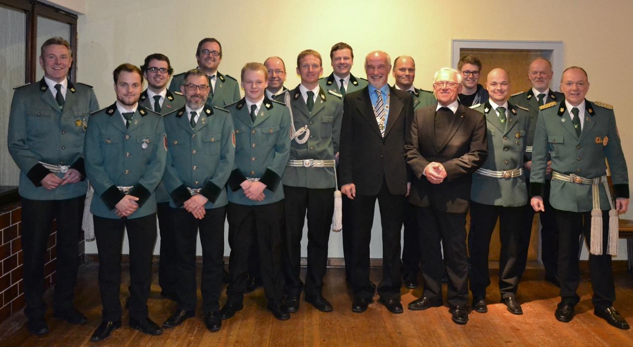 Generalversammlung 2017 – Einstimmigkeit Bei Hagener Schützen